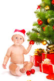 Bebé de Santa Imagen de archivo libre de regalías