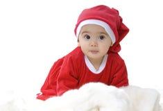 Bebé de Santa Fotografía de archivo
