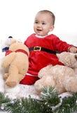 Bebé de Santa Imágenes de archivo libres de regalías