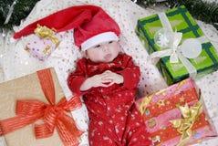 Bebé de Santa Foto de archivo libre de regalías