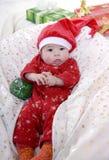 Bebé de Santa Imagen de archivo