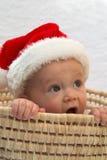 Bebé de Santa Foto de archivo
