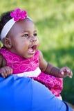 Bebé de sorriso Imagem de Stock Royalty Free