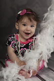Bebé de sorriso Imagens de Stock Royalty Free
