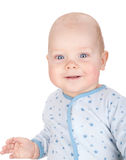 Bebé de sorriso bonito Fotografia de Stock Royalty Free