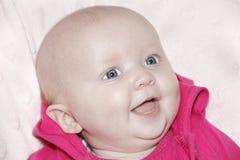 Bebé de sorriso novo foto de stock
