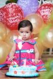 Bebé de un año Foto de archivo