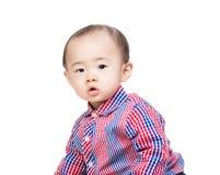 Bebé de un año de Asia imagenes de archivo