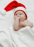 Bebé del Año Nuevo Imagenes de archivo