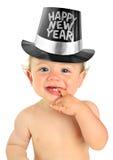 Bebé del Año Nuevo Imágenes de archivo libres de regalías