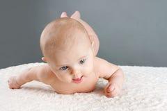 Bebé del balanceo Fotos de archivo libres de regalías