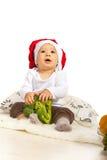 Bebé del cocinero que mira para arriba Imagen de archivo