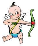 Bebé del Cupid Fotos de archivo