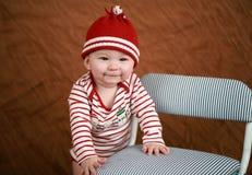Bebé del día de fiesta Fotos de archivo