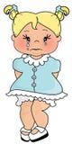 Bebé del grito Foto de archivo