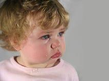 Bebé del grito Imagen de archivo libre de regalías