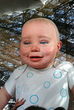 Bebé del pabellón español Imagenes de archivo