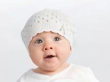 Bebé del pequeño niño Fotos de archivo