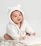 Bebé del pequeño niño fotografía de archivo
