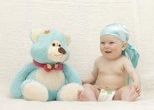Bebé del pequeño niño Imágenes de archivo libres de regalías