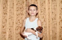 Bebé del perro Fotos de archivo