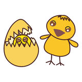 Bebé del pollo libre illustration