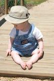 Bebé del puente fotos de archivo