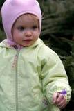 Bebé del resorte Imagen de archivo libre de regalías