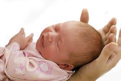 Bebé del sueño fotografía de archivo