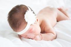 Bebé descubierto Fotografía de archivo