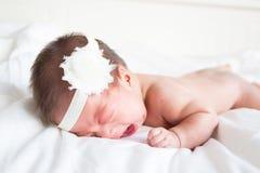 Bebé descubierto Fotos de archivo libres de regalías