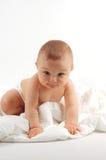 Bebé después del baño #15 imagen de archivo