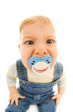 Bebé divertido foto de archivo libre de regalías