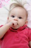 Bebé divertido Fotografía de archivo libre de regalías