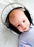 Bebé DJ Fotografía de archivo libre de regalías