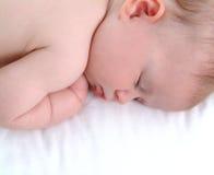 Bebé dormido Imagenes de archivo