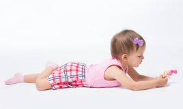 Bebé dos años de edad Imagen de archivo
