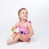 Bebé dos años de edad Fotografía de archivo