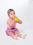 Bebé dos años de edad Foto de archivo