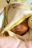 Bebé durmiente Foto de archivo