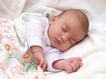 Bebé durmiente Imagen de archivo libre de regalías