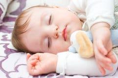 Bebé durmiente Imagen de archivo
