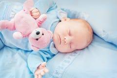 Bebé durmiente Fotografía de archivo