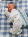 Bebé durmiente Imagenes de archivo