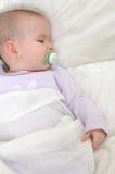 Bebé durmiente 2 Foto de archivo