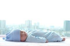 Bebé durmiente Fotos de archivo