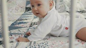 Bebé em seu estômago vídeos de arquivo
