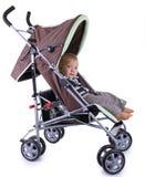 Bebé en cochecito Foto de archivo libre de regalías