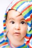 Bebé en colores Fotos de archivo