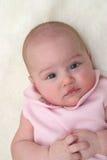 Bebé en el color de rosa 01 Fotografía de archivo libre de regalías